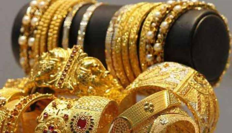 Gold prices rise by Rs 400 to Rs119,400 per tola