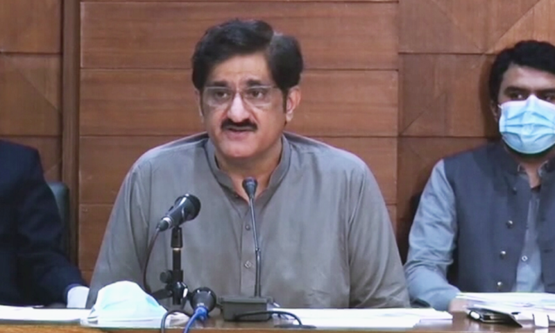 Murad says no agreement reached on Karachi's civic issues