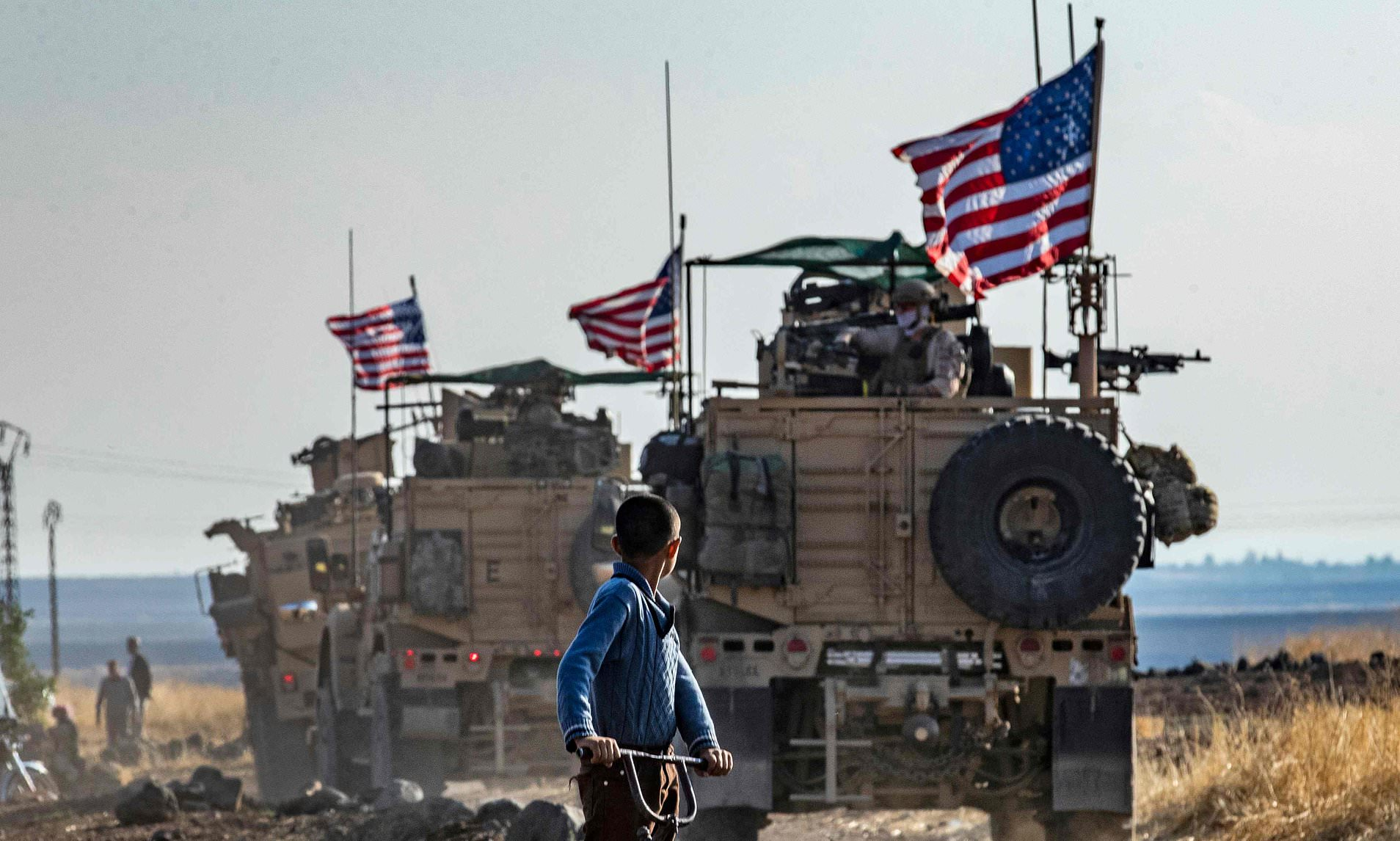 US troops injured in tense confrontation with Russians in Syria