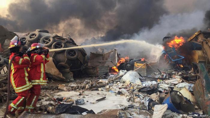Beirut blast killed more than 100: Lebanese Red Cross