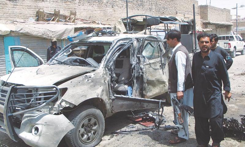 Chaman: Five killed in blast near DPO office