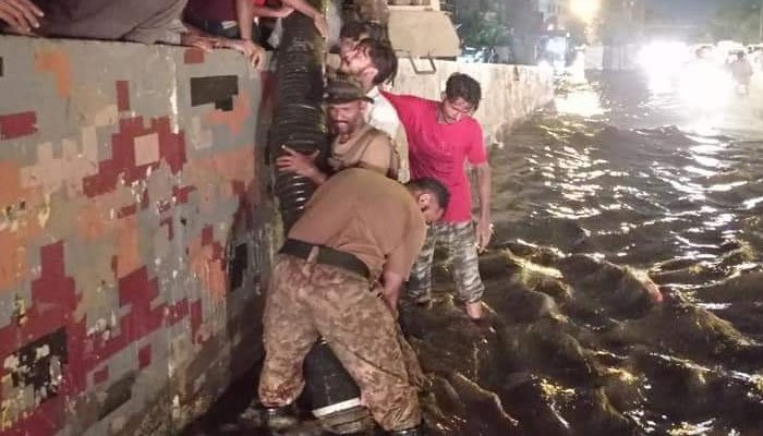 Pakistan Army starts relief operation in rain-hit Karachi: ISPR