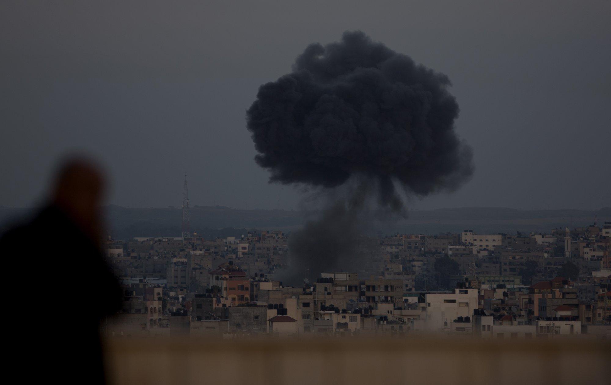 Israel bombs Gaza as rocket fire intensifies