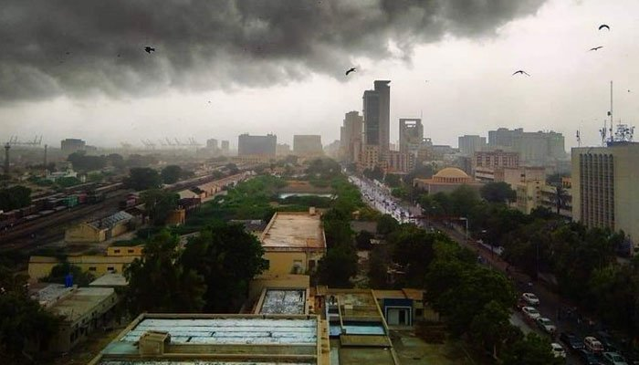 Met Office predicts more rains in Karachi from Friday