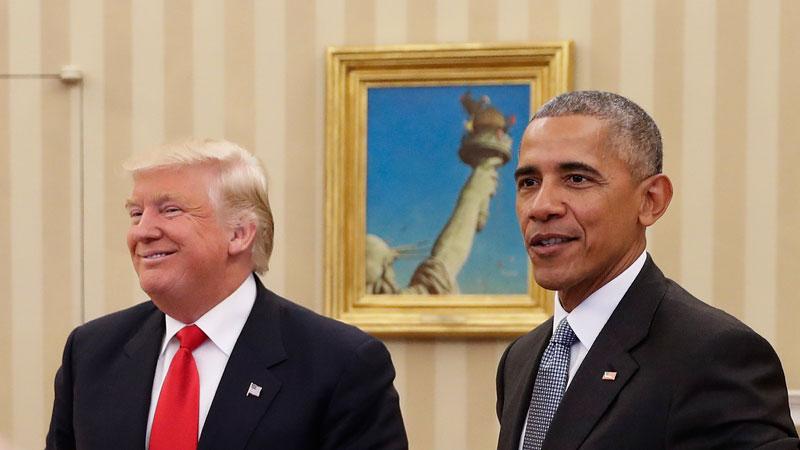 Obama says Trump never took presidency 'seriously'
