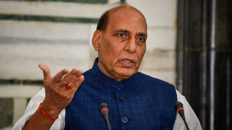 Pakistan, China creating border dispute with India 'under a mission': Rajnath Singh