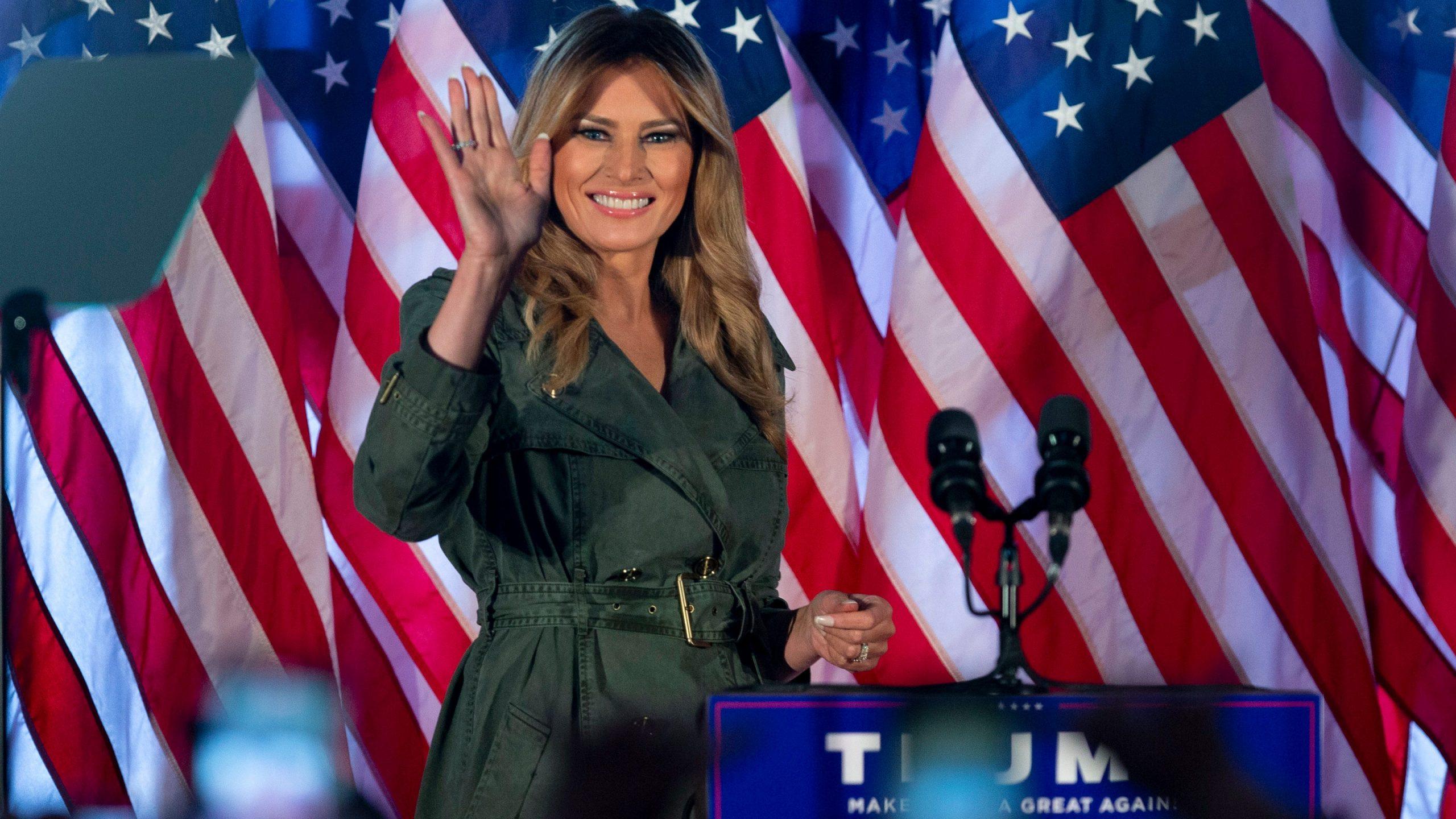 US election 2020: Melania Trump attacks Joe Biden, media in latest speech