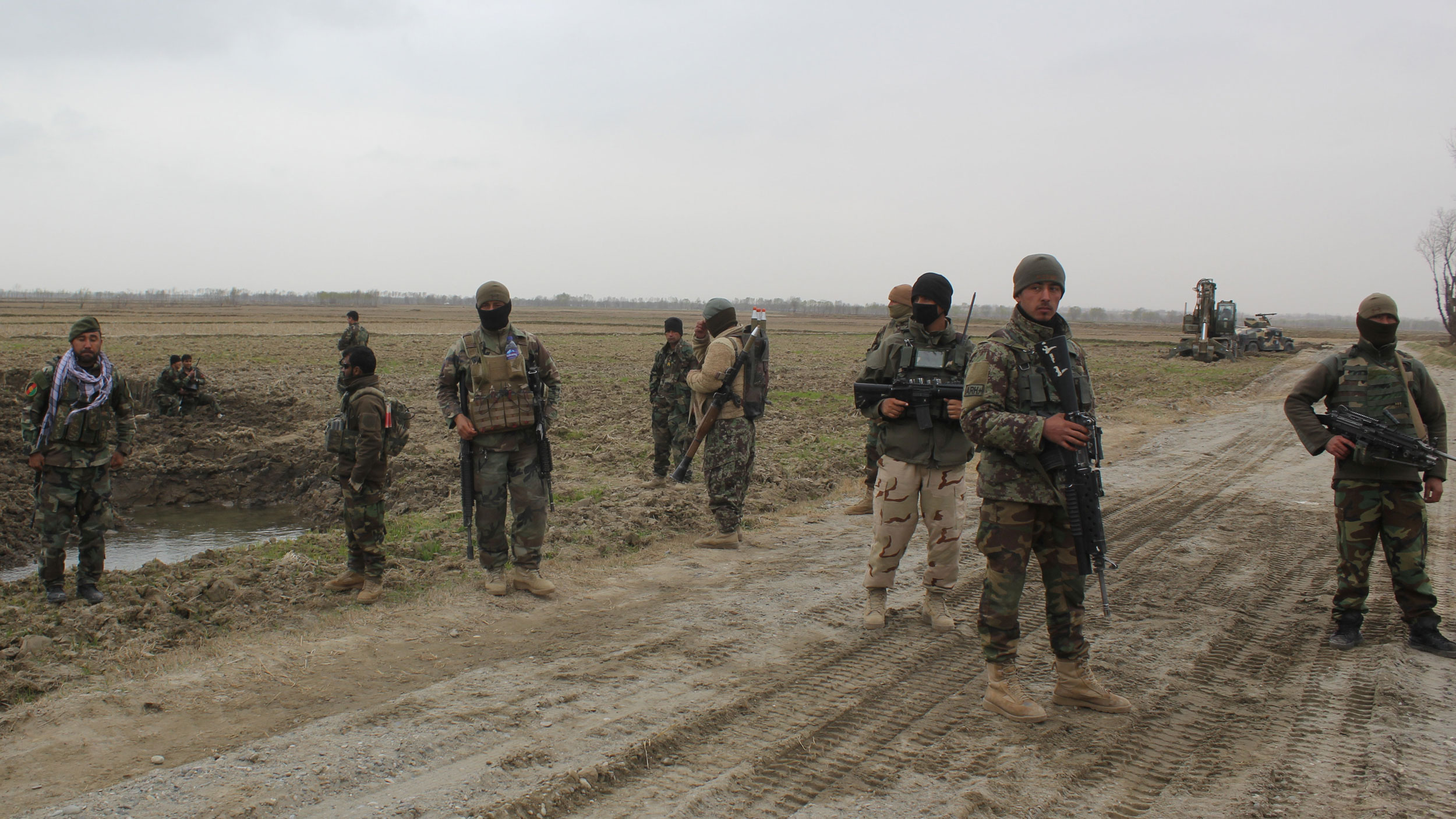 Afghan forces launch counter assault after Taliban offensive overshadows talks