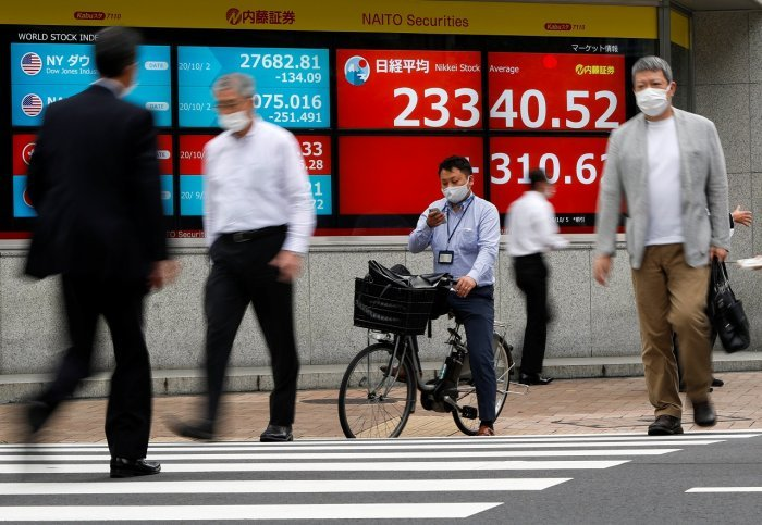 Asian markets rise on growing hopes for US stimulus