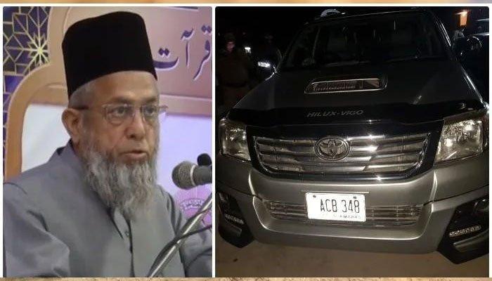Case of Maulana Adil's assassination registered