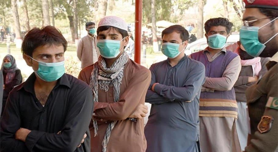 Pakistan reports 45 deaths by coronavirus, 2,417 new cases in one day