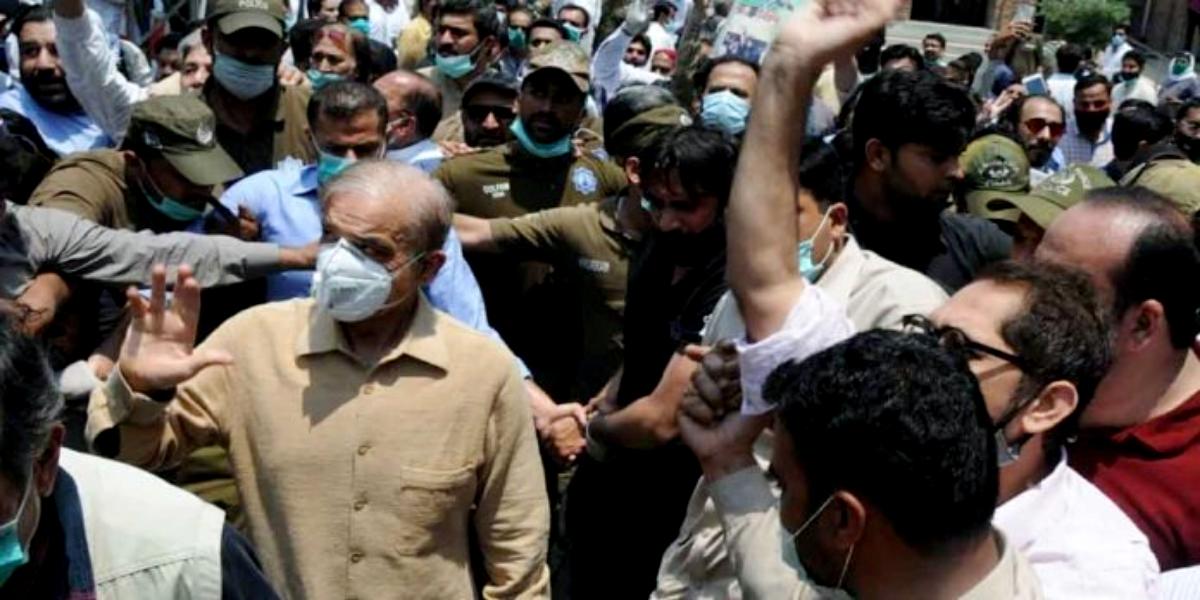 Shahbaz Sharif addresses NA session
