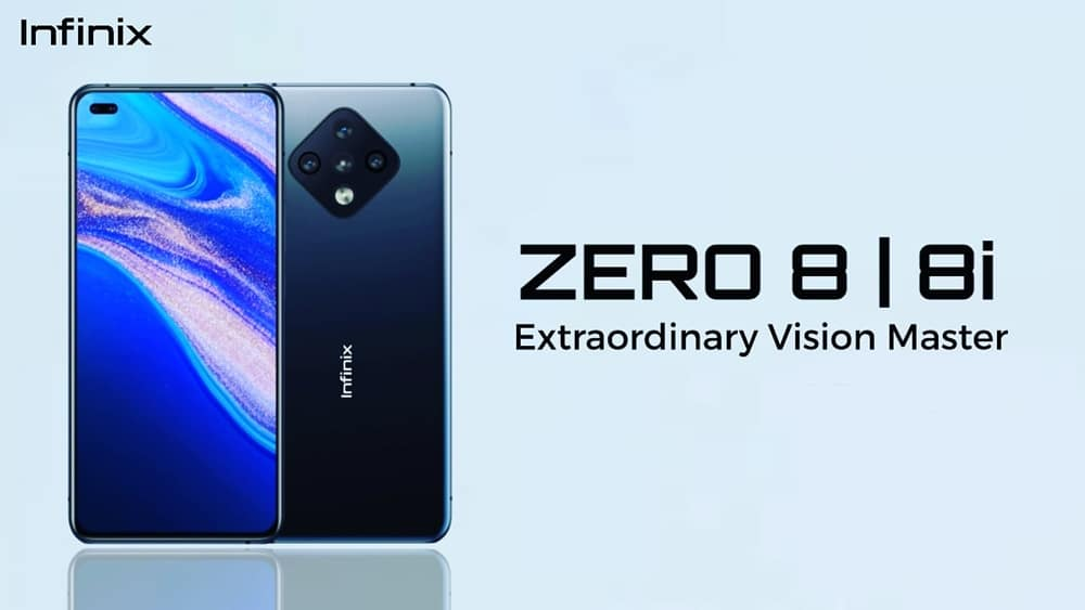 Infinix Zero 8i launched in Pakistan with 90Hz display, 48MP camera