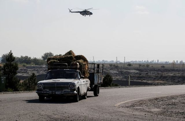 New fighting flares over Nagorno-Karabakh as Aliyev warns against Russian involvement