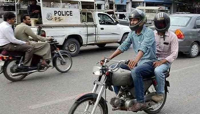 Sindh govt bans pillion riding in Karachi over fears of targeted killings