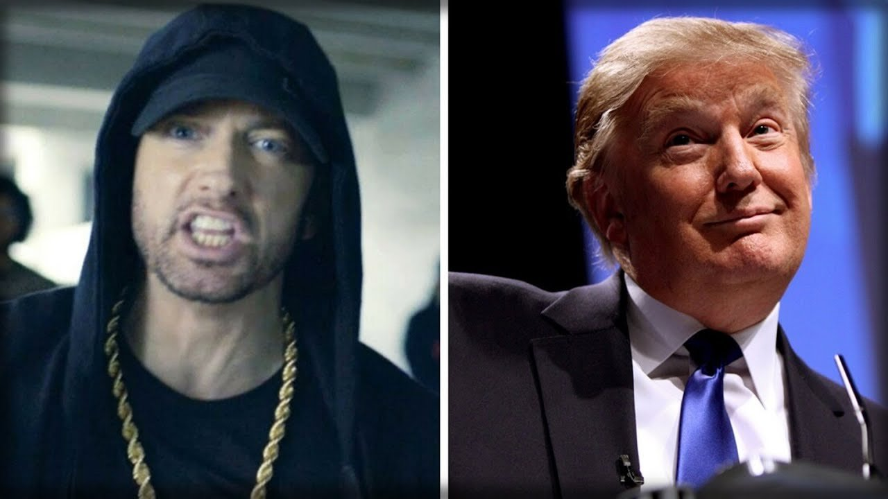 Do you know Trump was once ready to vote for Eminem?