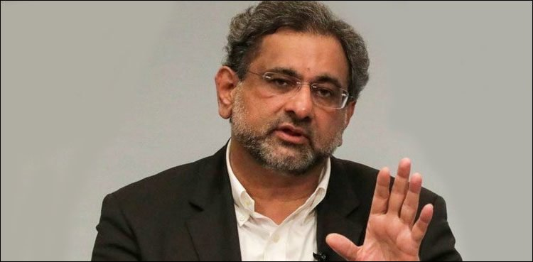 Sindh IGP was abducted, pressurized to lodge case against PML-N: Shahid Khaqan