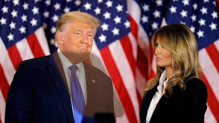 Melania Trump has advised Donald Trump to accept US election loss: report