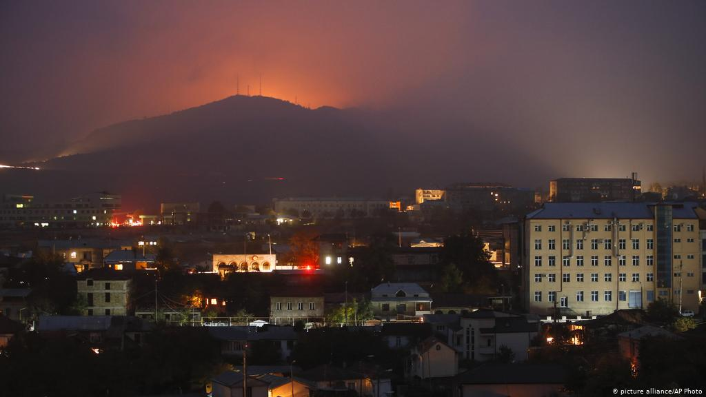 Azerbaijan claims seizing control of major city amid ongoing conflict with Armenia