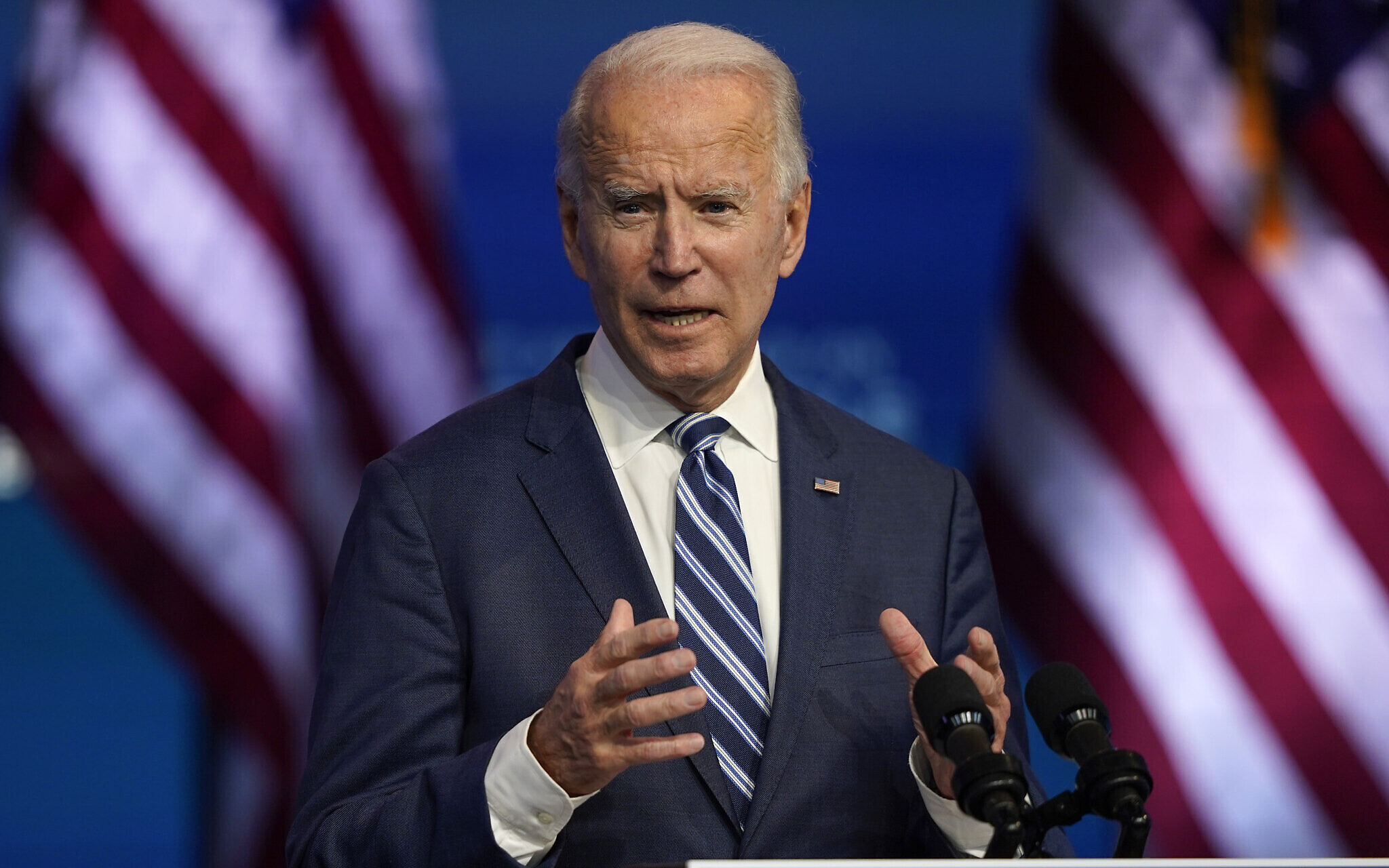 Biden brands Trump's refusal to concede an 'embarrassment'