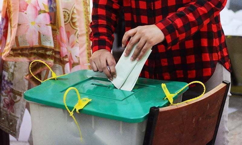 CEC Raja Shehbaz visits control room, inspects arrangements for GB polls