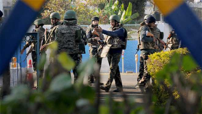 Court grants physical remand of three terror suspects
