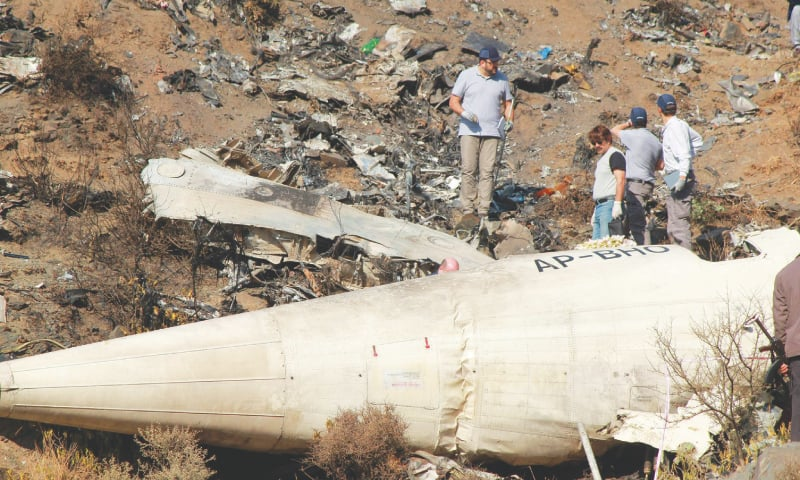 Havelian plane crash report released after four years