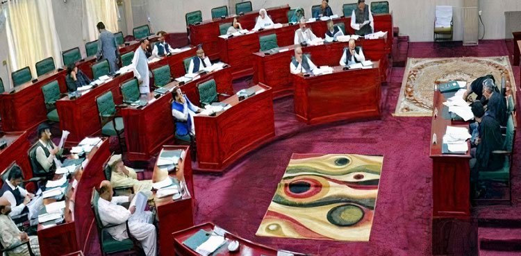 Newly elected members of Gilgit-Baltistan Assembly take oath
