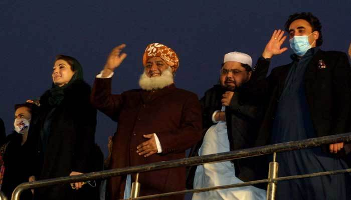 PDM Lahore rally: Case lodged against PML-N leaders for vandalism, SOPs violation