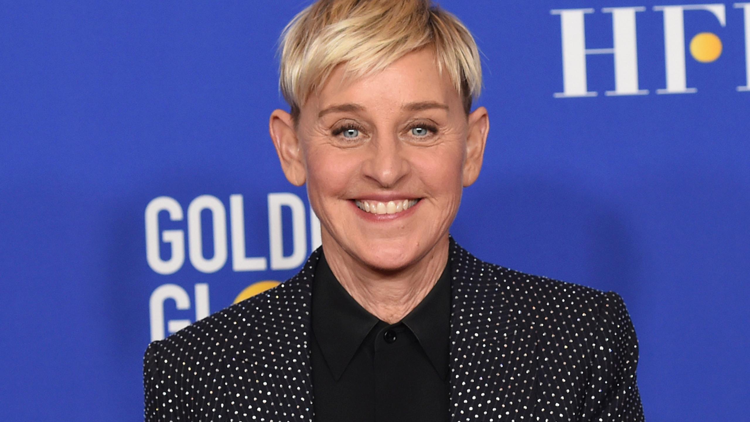 DeGeneres: Positive test for coronavirus but 'feeling fine'