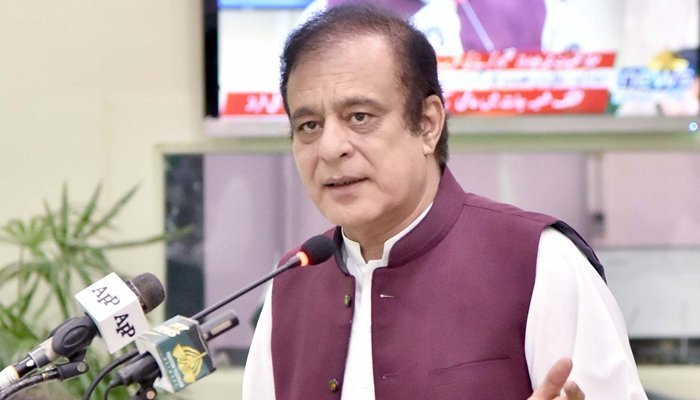 Broadsheet issue once again exposed 'con artists': Shibli Faraz