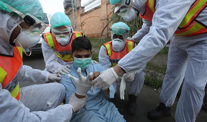 Coronavirus kills 80 Pakistanis, infects 2,615 in one day