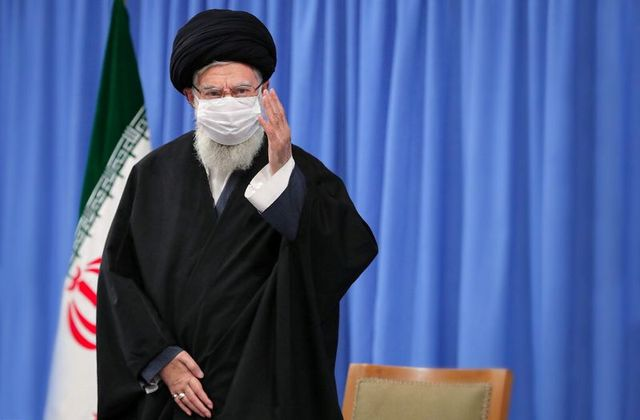 Iran's Supreme Leader reappears in public, hits out at US