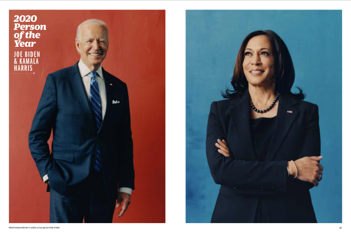 Joe Biden and Kamala Harris named TIME's 2020 person of the year
