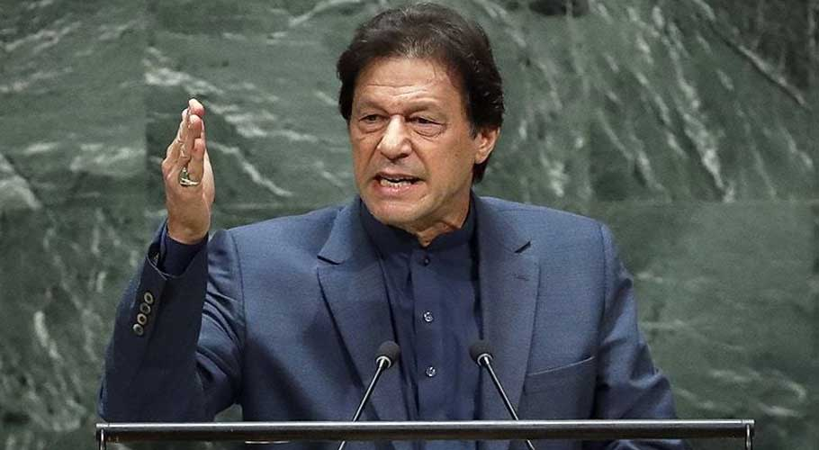 PM Imran Khan condemns Indian firing on UN vehicle at LoC