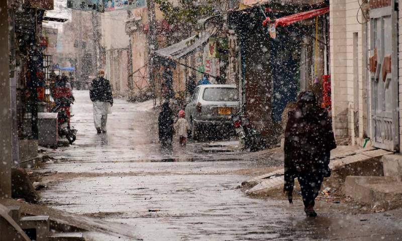 Rain in Lahore and other parts of the country turns weather cold