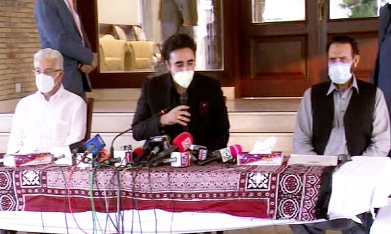 'The time for dialogue has passed', Bilawal rejects PM's offer