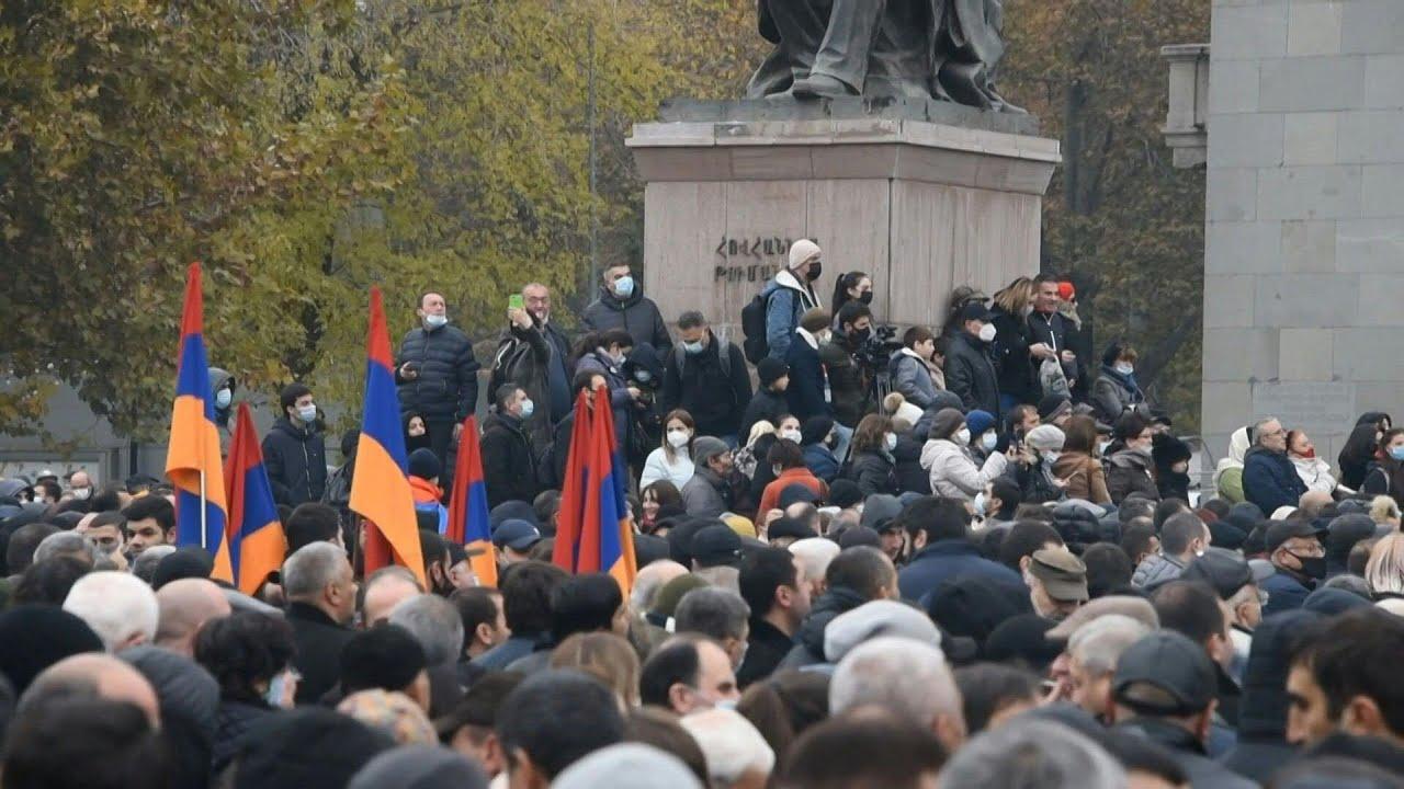Armenia lifts martial law months after Karabakh war