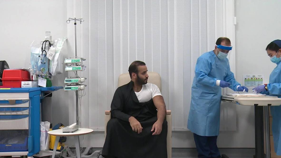 Saudi crown prince Mohammed bin Salman receives first dose of COVID-19 vaccine