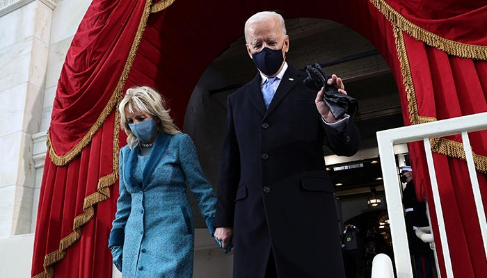 Biden sworn in as US president, takes helm of deeply divided nation