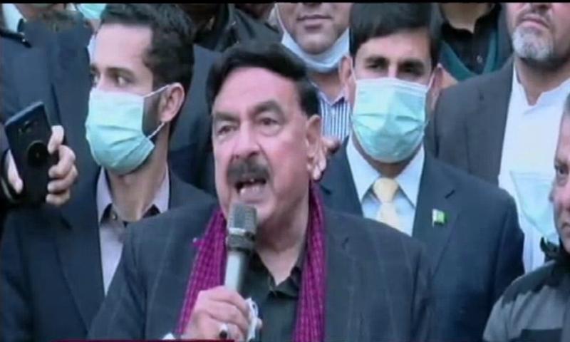 TLP head Saad Rizvi is still arrested under the Terrorism Act: Rasheed
