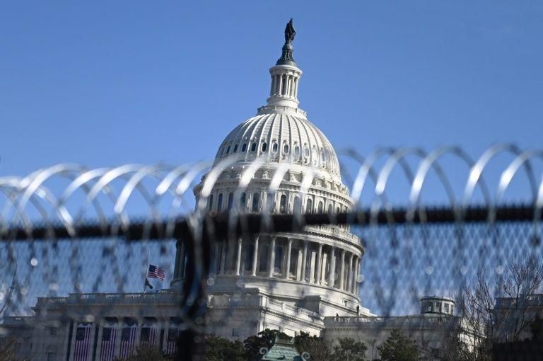 US capital locks down as security threats mount