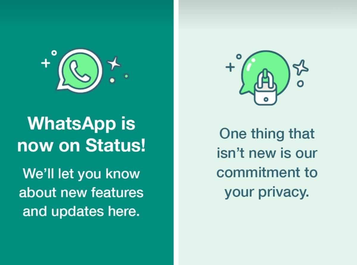 WhatsApp now uses Status updates to tackle privacy policy concerns