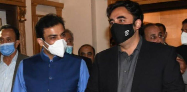PPP decides to increase contacts with Hamza instead of Maryam Nawaz