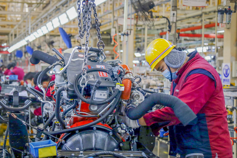 China factory activity rises but analysts warn of 'fragile recovery'