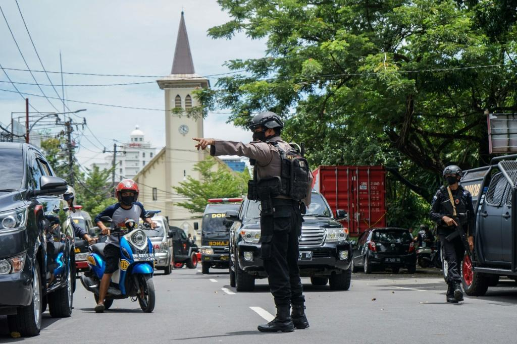 Pro-IS terror network behind Indonesian cathedral suicide bombing