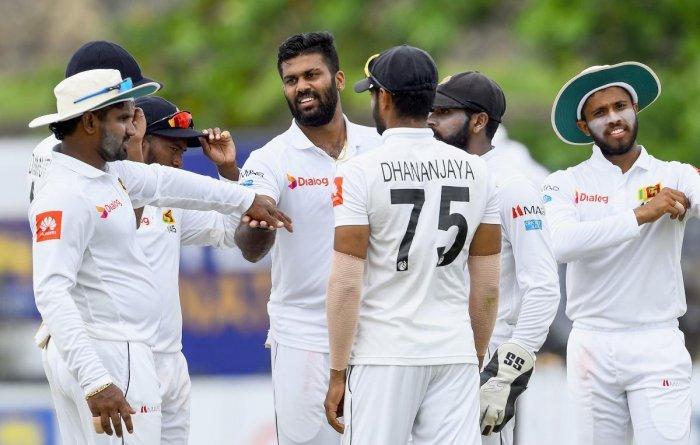 Sri Lanka names 17-member squad for West Indies Tests