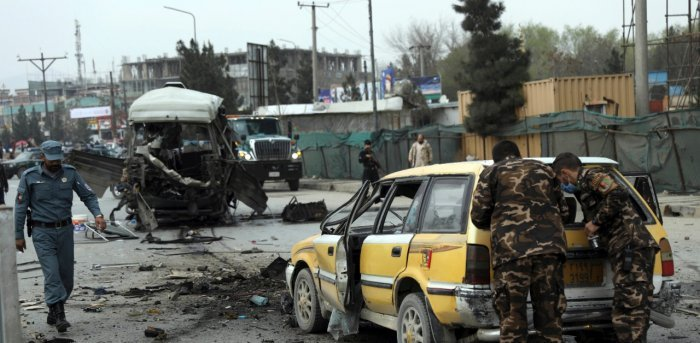 Three killed, 11 wounded in bombing of Afghan government bus in Kabul