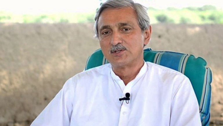 Tareen decides to show political strength during court appearance on April 10