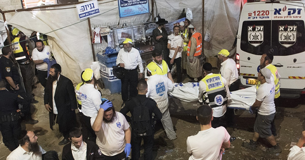 Stampede kills 45 at religious festival in Israel